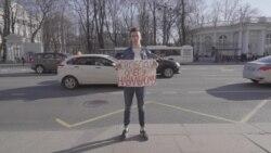Росія: активісти вийшли на підтримку брата Олексія Навального (відео)
