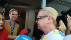 Rodica Nassar a venit la sediul PSD