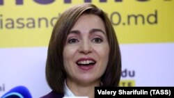 Прозападната победничка на изборитево Молдавија Маја Санду