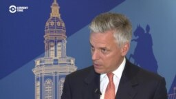 U.S. Ambassador: Russia Should Address Issues Behind Sanctions