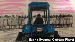 Картина Дамира Муратова