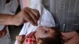 خیبر پښتونخوا کې د پولیو ضد څاڅکو ورکولو پينځه ورځنی کمپاین د اګست پر درېيمه پای ته رسېږي. انځور - ارشیف