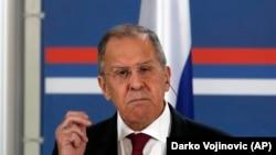 Șeful diplomației ruse, Serghei Lavrov