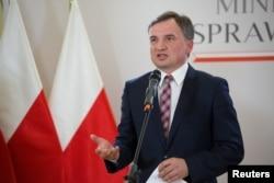 Zbigniew Ziobro lengyel igazságügy-miniszter