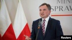 Zbigniew Ziobro lengyel igazságügyminiszter