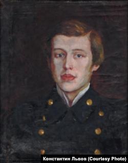 Георгий Маслов. Портрет работы неизвестного художника. 1915 г.