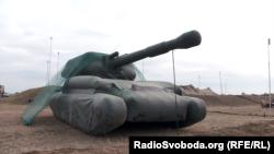 Надувна САУ 2С3 «Акація»