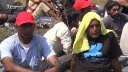 RSE na Horgošu: Izbeglice u štrajku glađu
