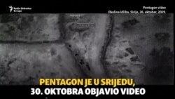 Pentagon objavio snimke napada na vođu IDIL-a