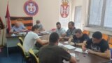 """Serbia -- Signing a petition against the ban on genocide denial in Bosnia and Herzegovina, Association """"Cast otadzbine"""", Belgrade, July 27, 2021"""
