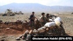 شماری از نیروهای امنیتی در افغانستان