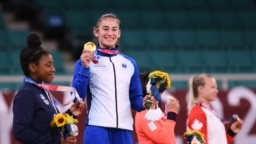 Džudistkinja Nora Đakova osvojila je zlatnu medalju na Olimpijskim igrama u Tokiju, 26. jula 2021.