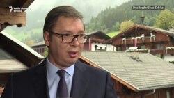 Vučić u Alpbahu: Kosovo jedna od ključnih tema