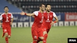 T Persepolis FC to a 4-0 did win over Sharjah and a place in the 2020 AFC Champions League Round of 16 from Group C on Thursday