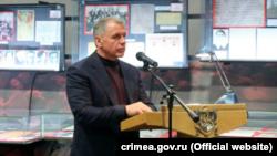 Спикер российского парламента Крыма Владимир Константинов на заседании «Ливадийского клуба»