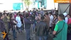 Протест на хлебозаводе