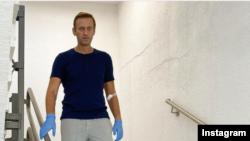 Алексей Навальный в больнице в Берлине