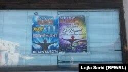 Plakati za noćnu zabavu u Neumu, avgust 2020