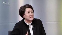 Шайлдабекова: Парламенттин сапаты шайлоочунун колунда