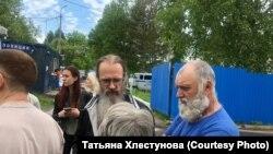 Андрей Винарский после выхода из спецприемника
