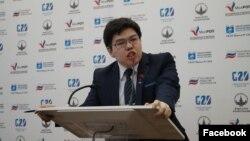 Темирлан Султанбеков, «Социал-демократтар» партиясынын мүчөсү. Сүрөт анын «Фейсбуктагы» баракчасынан алынды.