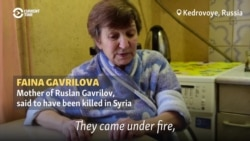 Mother Talks About Dead Russian Mercenary