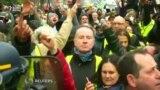 Parisdə nümayişçilər prezident Macronun istefasını tələb ediblər