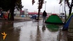 Kiša u parku