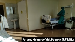Временный ковидный госпиталь при РКБ