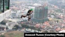 Бейс-прыжок. Китай. 2019 г.