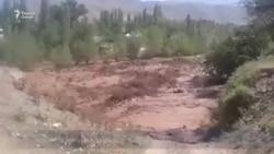 Селевой поток в Таджикабадском районе
