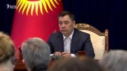 Жапаров чет элдик дипломаттарга кайрылды