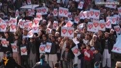 Світ у відео: У Кабулі пройшла протестна хода проти зображень пророка Магомета у останньому випуску «Charlie Hebdo»