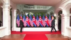 Donald Trup-la Kim Jong Un razılaşma imzaladılar
