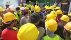 Строители «Абу-Даби Плаза» второй месяц не получают зарплаты