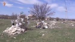 Крым продолжают заваливать мусором (видео)