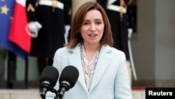 Moldovan President Maia Sandu