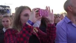 В Джанкое на праздновании Дня города исполнили песню группы «Океан Эльзы» (видео)