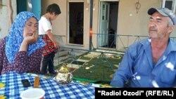 Родители курсанта Хошимджона Сафарова
