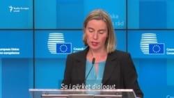 Mogherini nuk e përjashton ndryshimin e kufijve