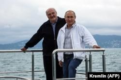 Олександр Лукашенко і Володимир Путін зустрілися втретє з початку року