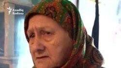 93 yaşlı ana və 67 yaşlı qızı: 'Pullarımız dərmana gedir'
