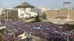 """Protestuesit grekë kundërshtojnë kompromiset eventuale për emrin """"Maqedoni"""""""