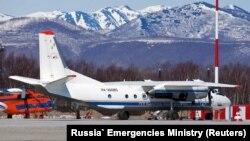 طیاره ناپدید شده روسی قبل از پرواز در میدان هوایی پتروپاولوفسک-کامچاتسکا. July 6, 2021