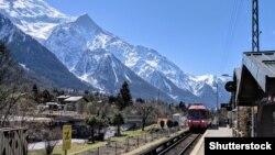 Ілюстрацыйнае фота. Даліна Шамані, францускія Альпы, Shutterstock