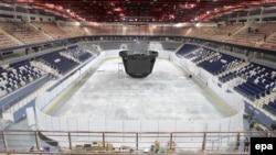 Ледовая арена.