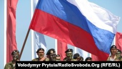 Празднование Дня военно-морского флота России в Севастополе. 25 июля 2010 года.