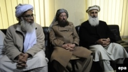 Members of a committee announced by the banned Tehreek-e Taliban Pakistan (TTP) for peace talks with the Pakistani government gathered in Islamabad on February 3.