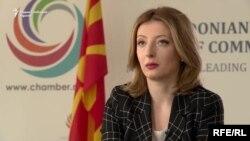 Претседателка на Сојузот на стопански комори на Македонија, Данела Арсовска