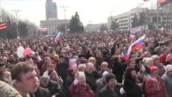 Мітинг у Донецьку: Ахметов – зрадник, Таруту – геть